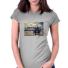 Camping Womens Fitted T-Shirt
