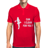 CAN I CLEAN FOR YOU Mens Polo