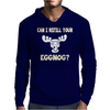 Can I Refill Your Eggnog Mens Hoodie