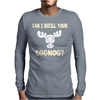 Can I Refill Your Eggnog Mens Long Sleeve T-Shirt