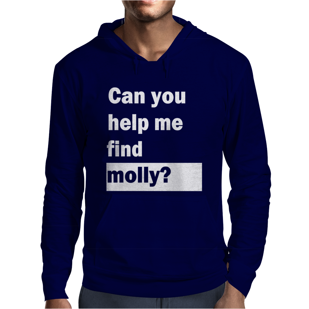 Can You Help Me Find Molly Mens Hoodie