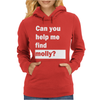Can You Help Me Find Molly Womens Hoodie