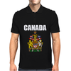 Canada Coat Of Arms Royal Mens Polo