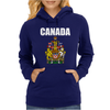 Canada Coat Of Arms Royal Womens Hoodie