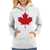 Canada International Baseball Womens Hoodie