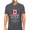canada maple leaf from sea to sea Mens Polo