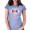 canada maple leaf from sea to sea since 1867 Womens Fitted T-Shirt