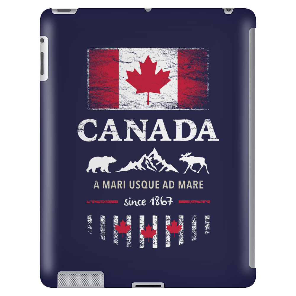 canada maple leaf from sea to sea Tablet