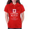 canada maple leaf from sea to sea Womens Polo