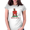 Canada Rugby 2nd Row Forward World Cup Womens Fitted T-Shirt