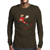 Canada Rugby Back World Cup Mens Long Sleeve T-Shirt