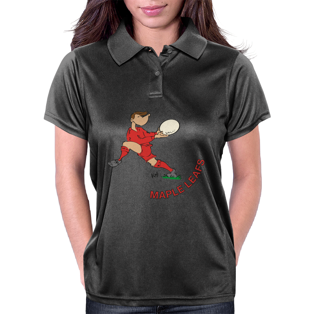 Canada Rugby Back World Cup Womens Polo