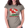 Canada Rugby Forward World Cup Womens Fitted T-Shirt