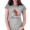 Canada Rugby Kicker World Cup Womens Fitted T-Shirt