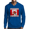 Canadian Blues- Written In Blood Mens Hoodie