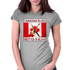 Canadian Blues- Written In Blood Womens Fitted T-Shirt