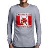 Canadian Blues-Written With Blood Mens Long Sleeve T-Shirt