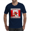 Canadian Blues-Written With Blood Mens T-Shirt