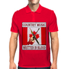 Canadian Country Music, Written In Blood Mens Polo