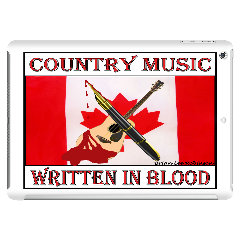Canadian Country Music, Written In Blood Tablet (horizontal)