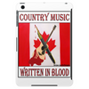 Canadian Country Music, Written In Blood Tablet (vertical)