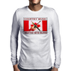 Canadian Country Music, Written With Blood Mens Long Sleeve T-Shirt