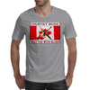 Canadian Country Music, Written With Blood Mens T-Shirt