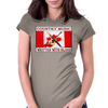 Canadian Country Music, Written With Blood Womens Fitted T-Shirt
