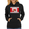 Canadian Country Music, Written With Blood Womens Hoodie