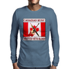 Canadian Music- Written With Blood Mens Long Sleeve T-Shirt