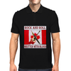 Canadian Rock and Roll- Written With Blood Mens Polo