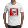 Canadian Rock and Roll- Written With Blood Mens T-Shirt