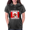 Canadian Rock and Roll- Written With Blood Womens Polo