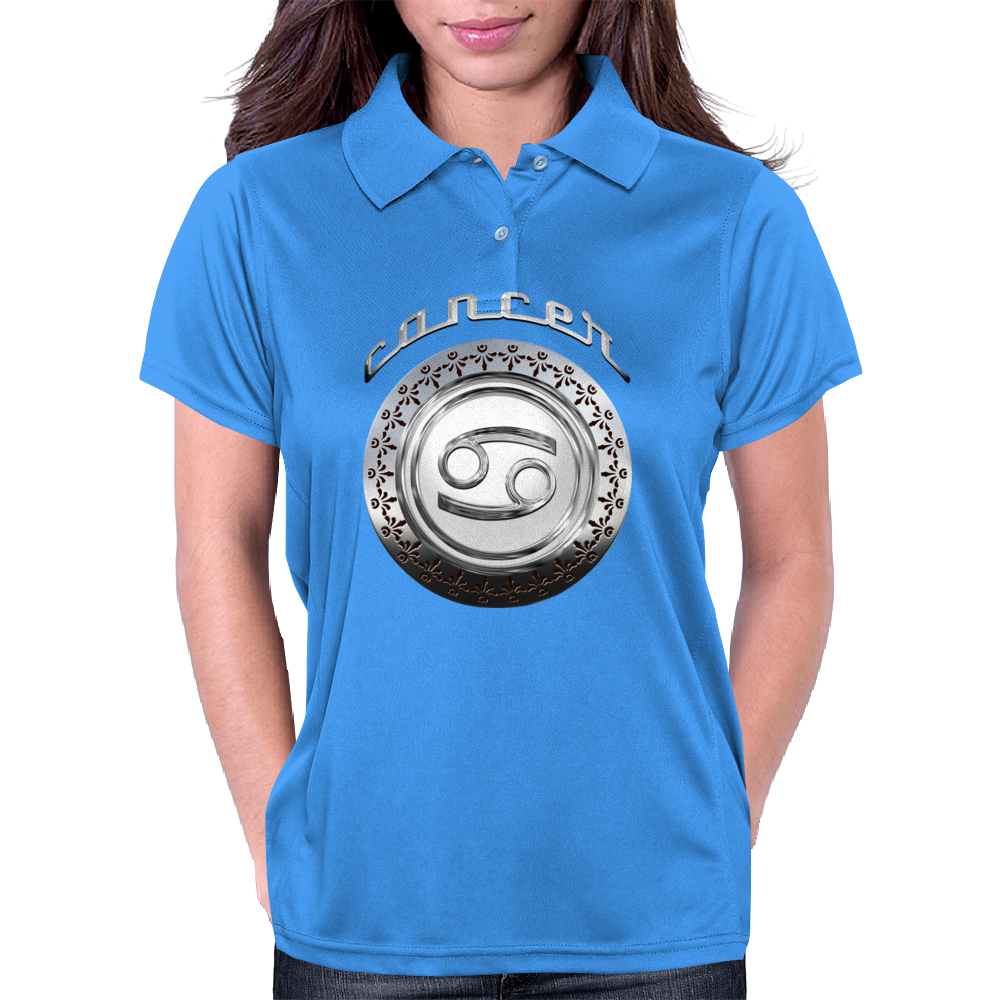 Cancer Astrological Sign Womens Polo