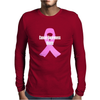 Cancer Awareness Month - (Designs4You) Mens Long Sleeve T-Shirt