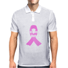 Cancer Awareness Month - (Designs4You) Mens Polo