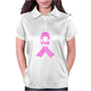 Cancer Awareness Month - (Designs4You) Womens Polo