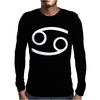Cancer Horoscope Zodiac Mens Long Sleeve T-Shirt