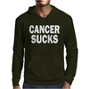 Cancer Sucks Mens Hoodie