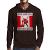 Candian Rock and Roll, Written In Blood Mens Hoodie