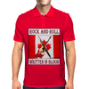 Candian Rock and Roll, Written In Blood Mens Polo