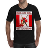 Candian Rock and Roll, Written In Blood Mens T-Shirt