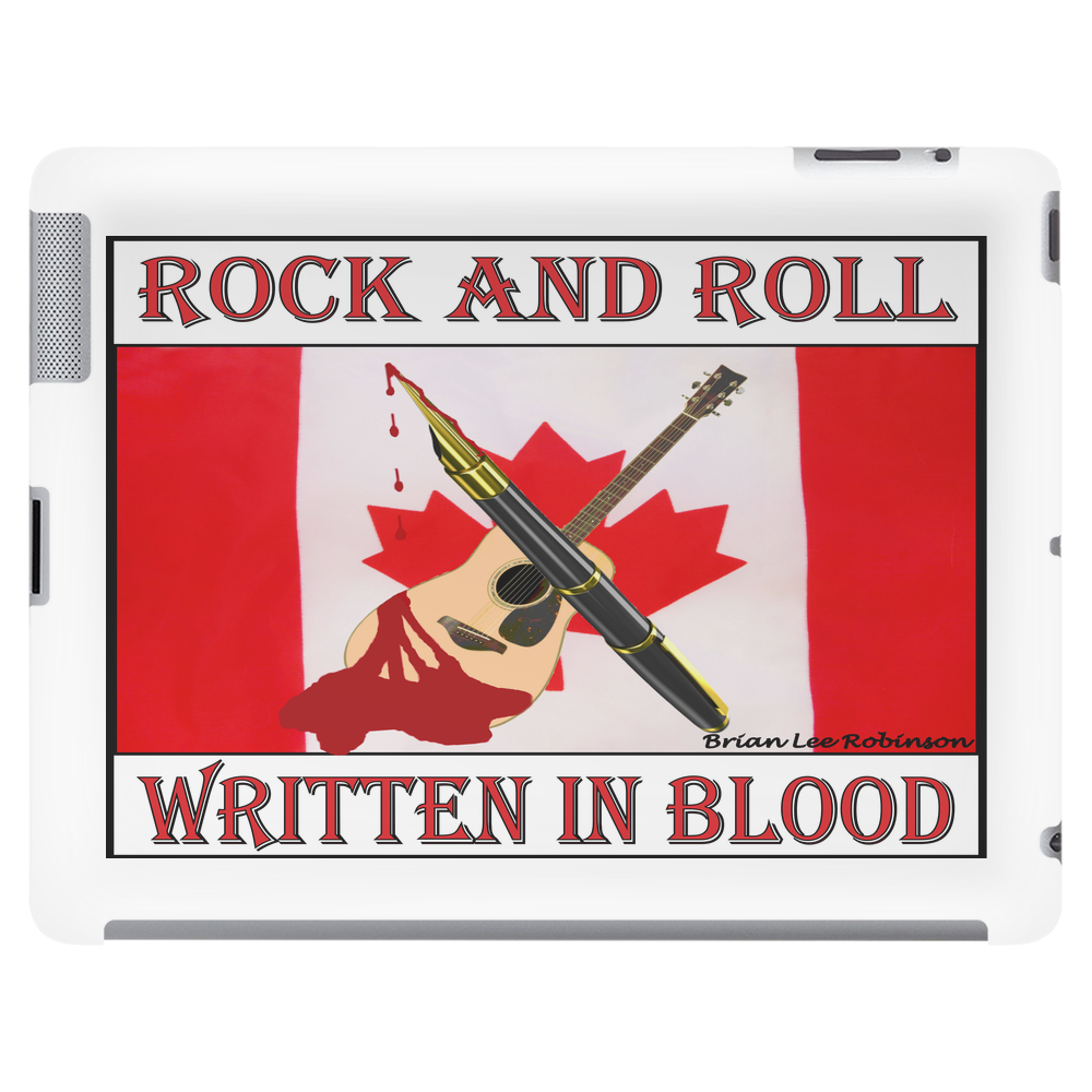 Candian Rock and Roll, Written In Blood Tablet (horizontal)