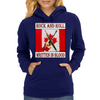 Candian Rock and Roll, Written In Blood Womens Hoodie