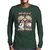 Cannabis Art Deco modern sophisticated design Mens Long Sleeve T-Shirt