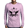 Cannabis Cat/Puss and Kush Mens Long Sleeve T-Shirt