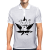Cannabis Cat/Puss and Kush Mens Polo
