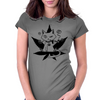 Cannabis Cat/Puss and Kush Womens Fitted T-Shirt