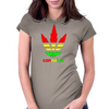 cannabis for men Womens Fitted T-Shirt