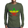 Cannabis Mens Long Sleeve T-Shirt